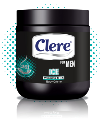 Clere for Men Ice body crème