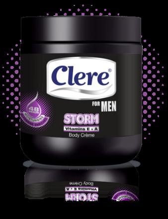 Clere for Men Storm body crème
